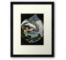Split Second Thought of a Futurist. Framed Print