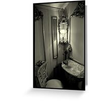 Telephone Room - Villa Vizcaya, Miami, FL Greeting Card