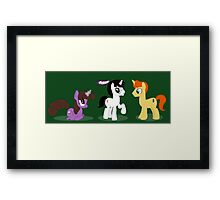 Potteronies Framed Print