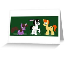 Potteronies Greeting Card