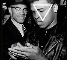 VNDERFIFTY AUTOGRAPH ( MALCOM X & MOHAMED ALI ) by VNDERFIFTY