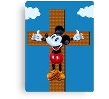mickey messiah Canvas Print