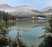 Green Lake, Whistler by Pierre Leclerc