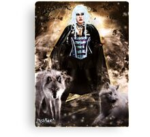 Follow the Wolves Canvas Print