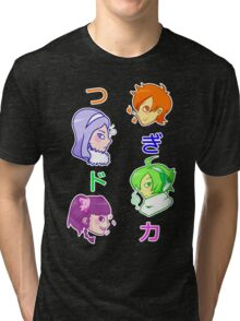 Pop'n Music - Tsugidoka! Tri-blend T-Shirt