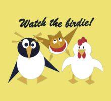 Watch the birdie! Baby Tee