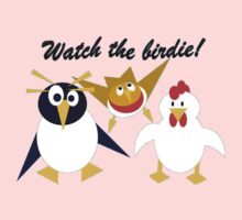 Watch the birdie! Kids Clothes