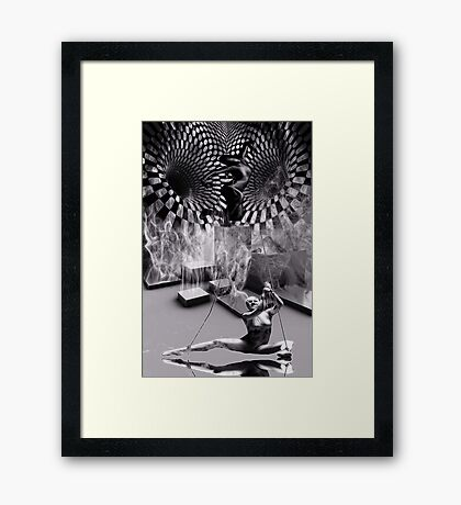 The Puppet Master (Please View Larger) Framed Print