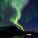 Aurora across the sky by Frank Olsen
