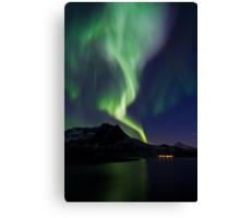Aurora across the sky Canvas Print