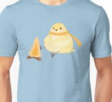 Cozy Canaries-Fireside Canary Unisex T-Shirt