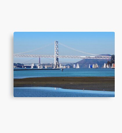 Sailing San Francisco Bay Canvas Print