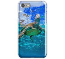 Turtle and sky iPhone Case/Skin