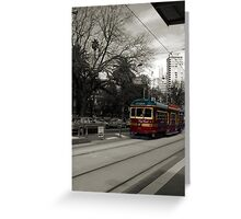 all aboard the city circle...... Greeting Card