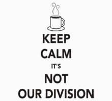 Not Our Division! by itshayleywithay