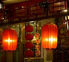 Tea House Lanterns by diggle