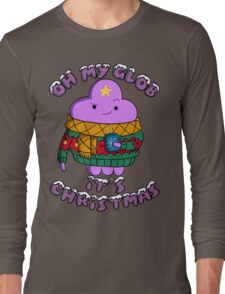 Lumpy Space Princess - Oh My Glob It's Christmas Long Sleeve T-Shirt