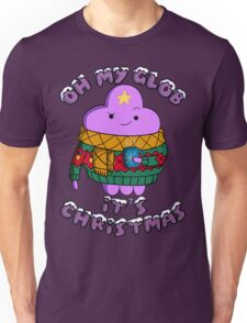 Lumpy Space Princess - Oh My Glob It's Christmas Unisex T-Shirt
