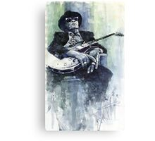 Jazz Bluesman John Lee Hooker 04 Canvas Print