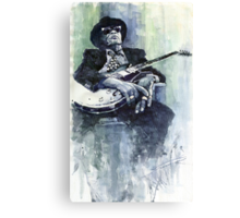 Jazz Bluesman John Lee Hooker 04 Canvas Print