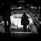 Entering the Metro by rsangsterkelly