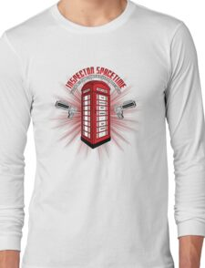 Inspector Spacetime Long Sleeve T-Shirt