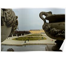 Schonbrunn Palace - Between the Sculptures Poster