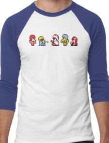 Final Fantasy Football Men's Baseball ¾ T-Shirt