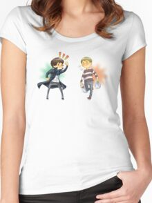 The Worlds Cutest Consulting Detective Women's Fitted Scoop T-Shirt