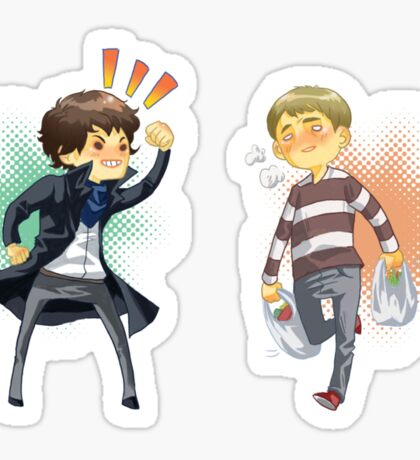 The Worlds Cutest Consulting Detective Sticker