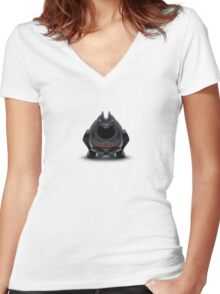 """""""Fast"""" Women's Fitted V-Neck T-Shirt"""