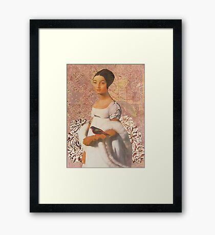 At First Framed Print