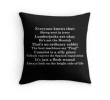 Python Quotes Throw Pillow