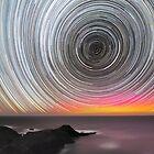 Aurora Star Trails by Alex Cherney
