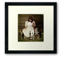 The Fragile Defence of an Empty Promise Framed Print