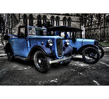 Two Austin 7s Photographic Print