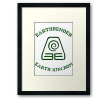 earth bender Framed Print