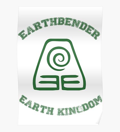 earth bender Poster
