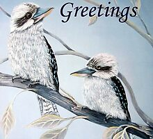 Cool Kookaburras by Linda Callaghan