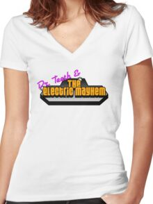 The Electric Mayhem Women's Fitted V-Neck T-Shirt