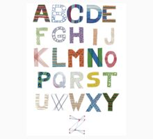 Alphabet - Handdrawn by effiedee