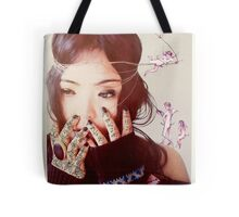 Queenie and the Angels Of Ecstasy  Tote Bag