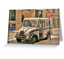 The Milk Truck Greeting Card