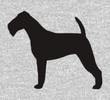 Irish Terrier Silhouette(s) One Piece - Short Sleeve