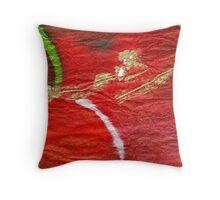 She Said... The Moon was Falling Throw Pillow