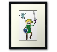 Adventure Link, Navi-Jake Framed Print
