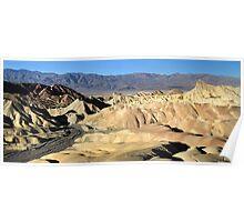 Zabriskie point, Death valley Poster