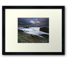 """The Gentle Wash"" ∞ Bermagui, NSW - Australia Framed Print"
