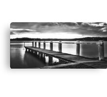 Night at the Jetty Canvas Print