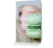 Sweet Line Up Greeting Card